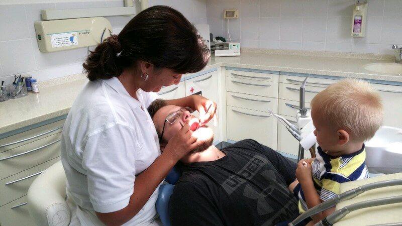 Prvi obisk pri otroškem zobozdravniku